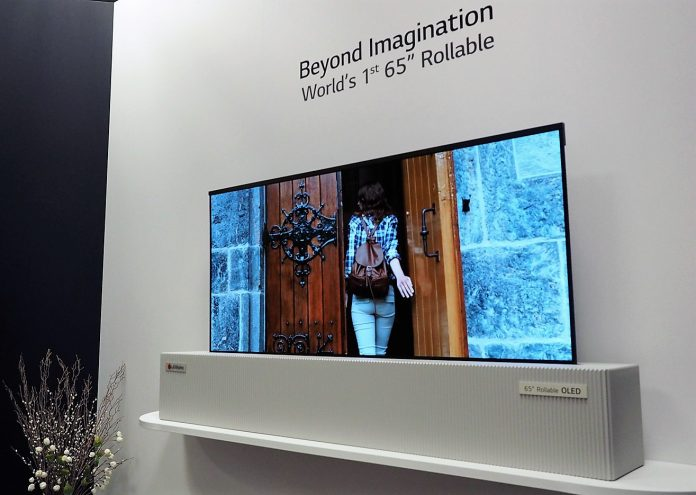 LG will be showing off rollable OLED TV, phone at CES 2019