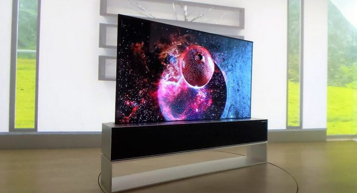 Roll With It: LG Signature Rollable Oled TV R