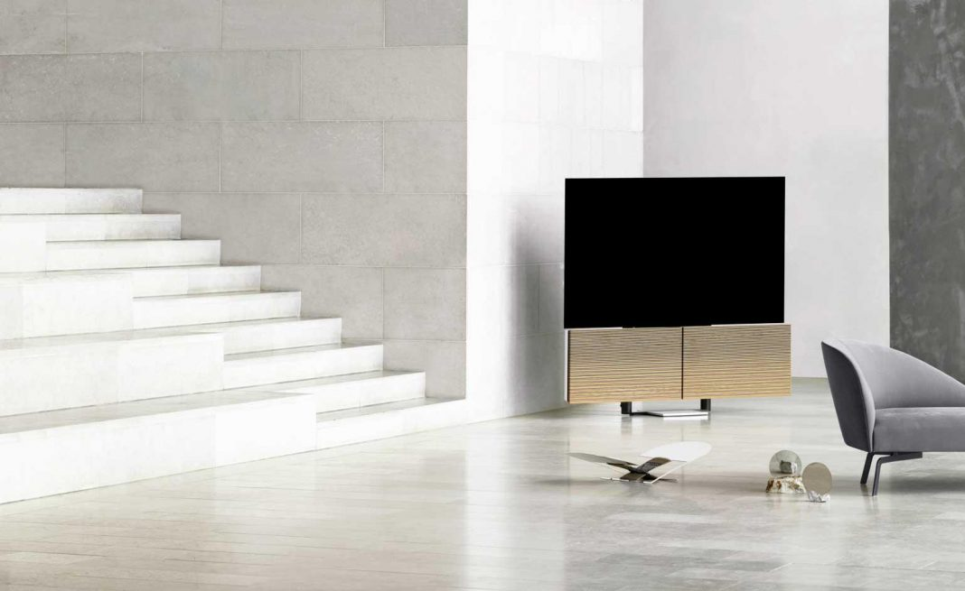 Bang & Olufsen's new TV costs more than a car, has speakers that spread like wings