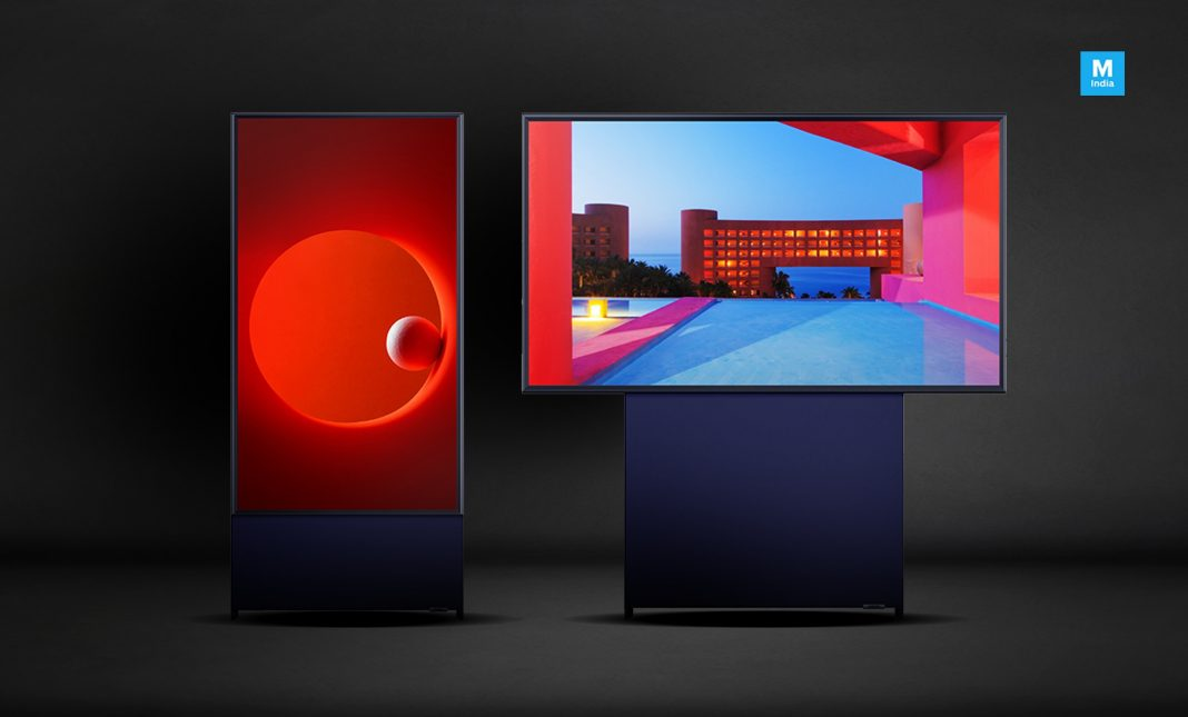 Samsung Sero: The vertical TV designed for millennials and the Snapchat generation