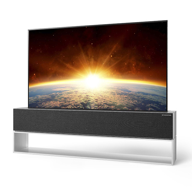 LG ROLLABLE OLED TV RX 1